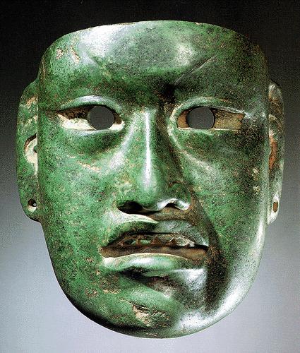 Fig. 4b Olmec mask