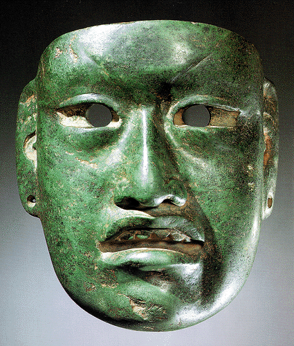 Fig. 4b Olmec mask