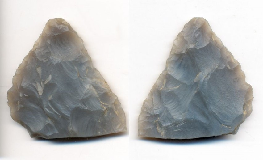 Neolithic knives from chipping.